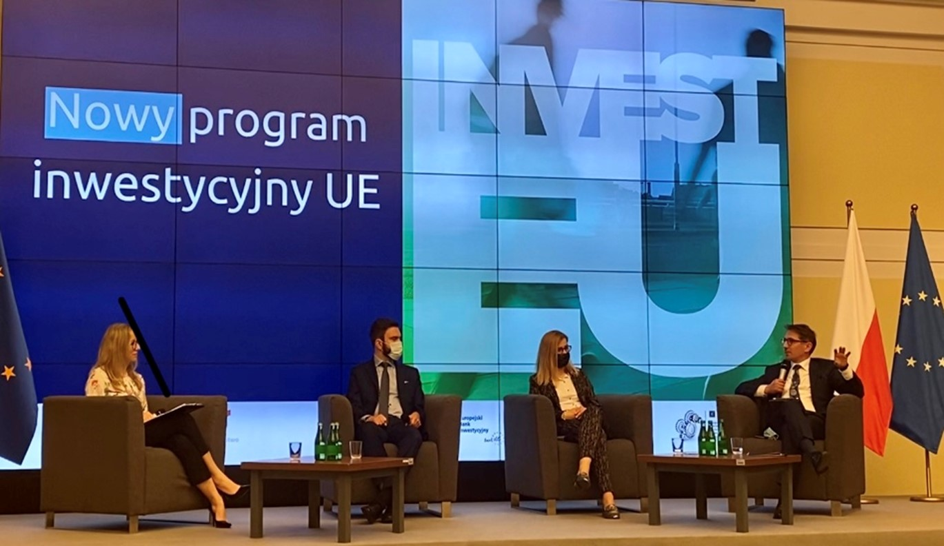 Fot. Panel ekspercki z udziałem MFiPR, EBI, BGK i KPK IF UE przy ZBP.